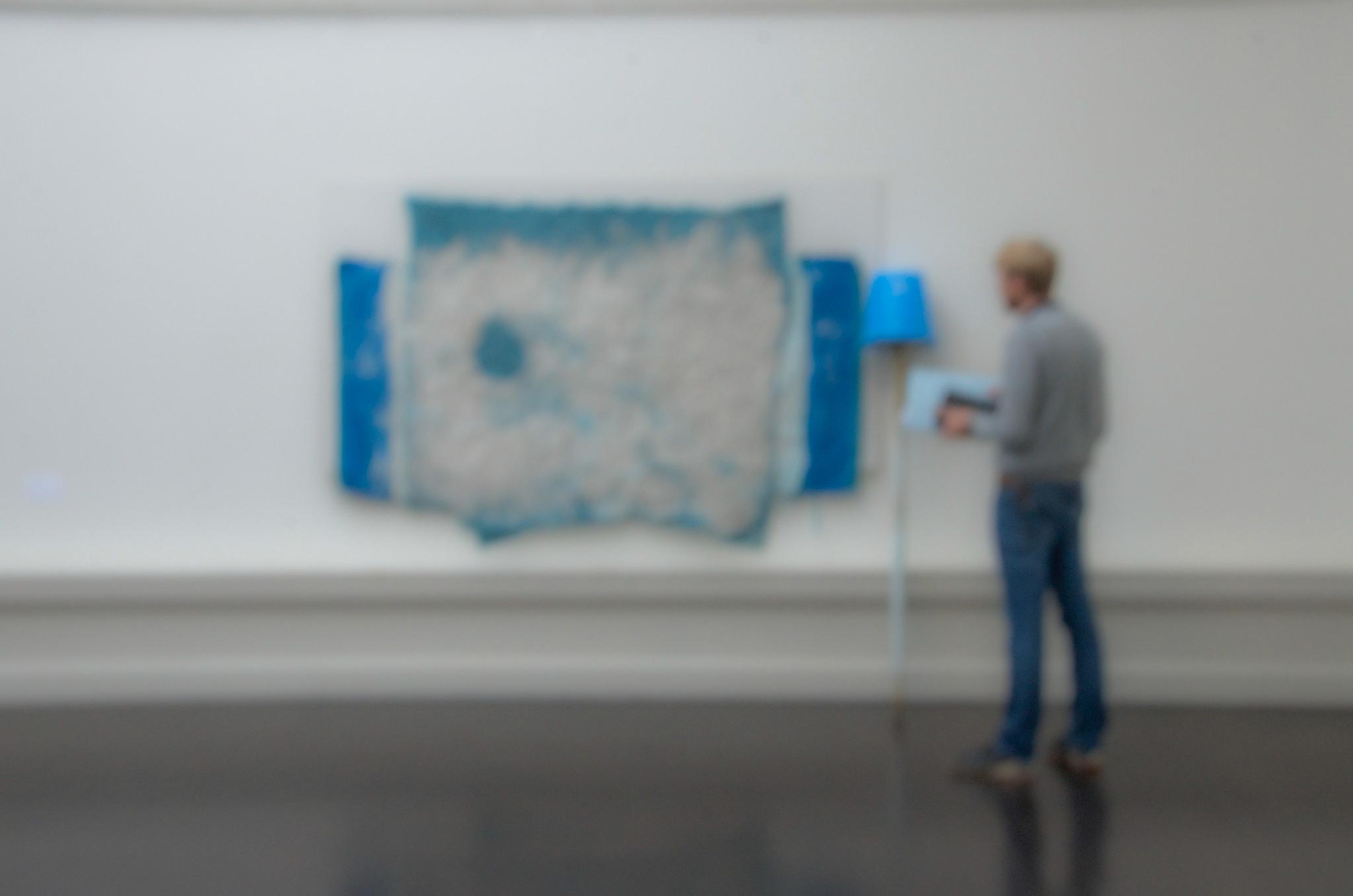 People looking at art [4]