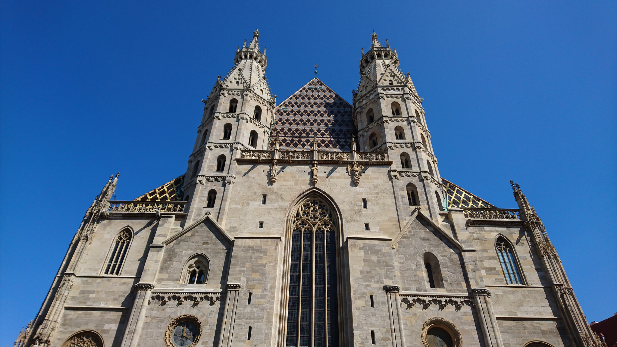 There are many beautiful churches and cathedrals in the city. Saint Stephen's cathedral is right in the heart of the shopping centre of the city.