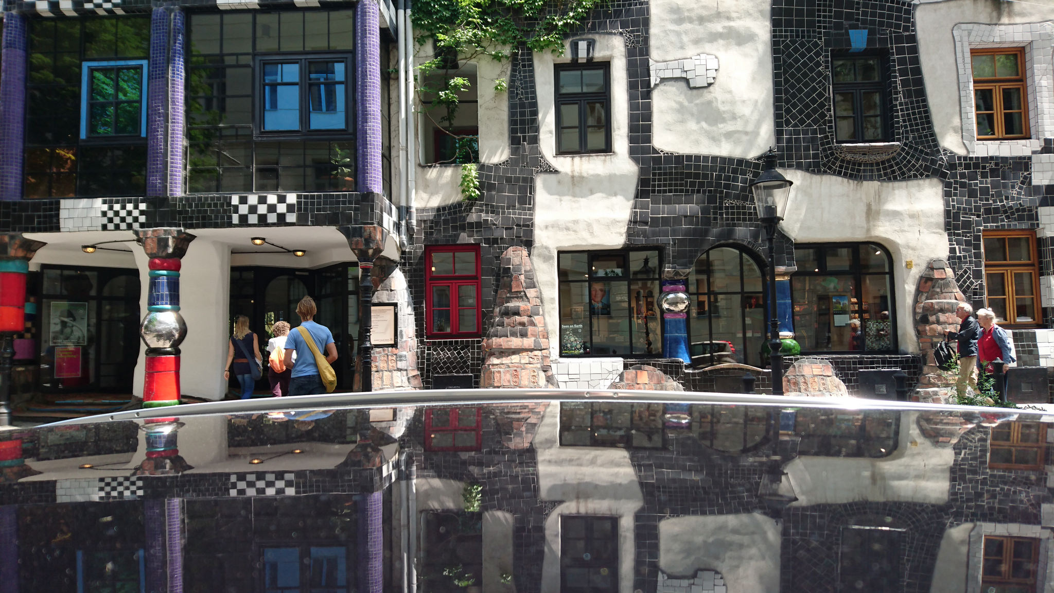 A visit to Vienna has to take in the wonderful architecture and vision of Friedensreich Hundertwasser.