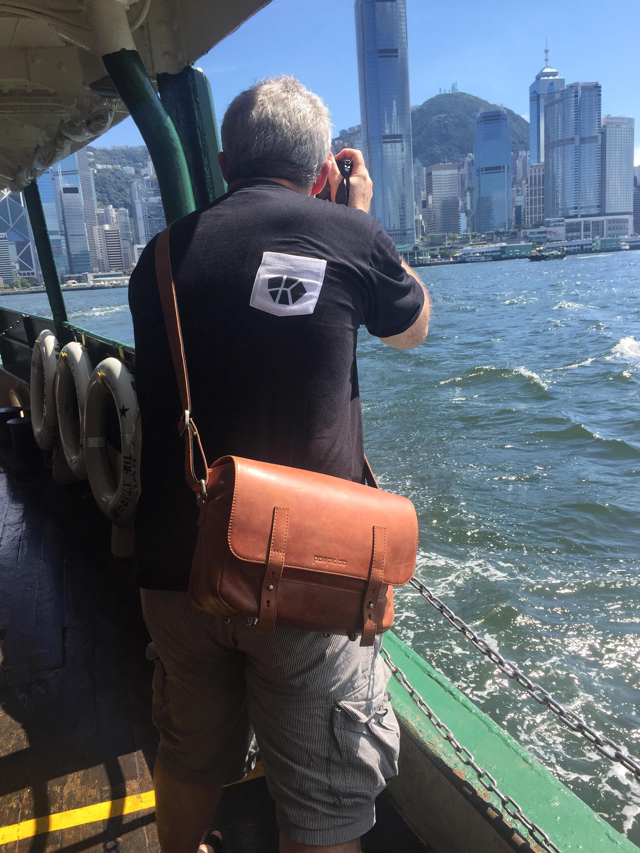 In action in Hong Kong