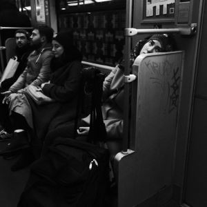 Daydreaming on the U-Bahn